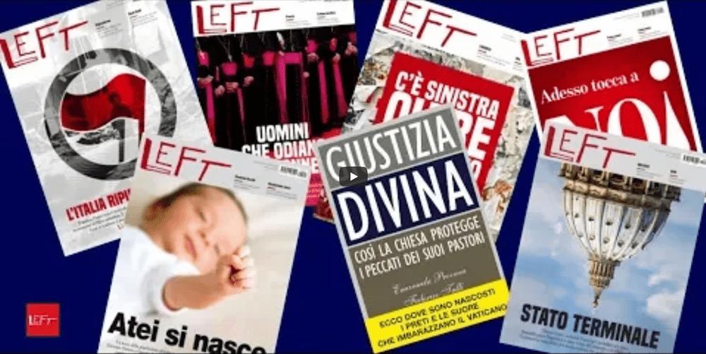 Left, Giustizia divina, una denuncia e Rete L'Abuso
