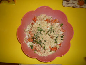 salata tabule pasul 4