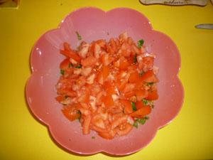 salata de patrunjel tabbouleh pasul 2