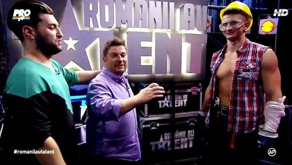 Calin cu Pavel si Smiley