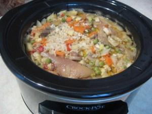 Pui-legume-orez - Slow-Cooker-CROCK-POT-7
