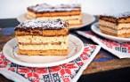 Prăjitura Carmelita cu gust intens de caramel și ciocolată