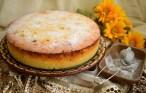 Prăjitură săsească cu brânză dulce și merișoare