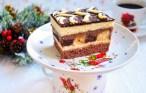 Prăjitura bicoloră