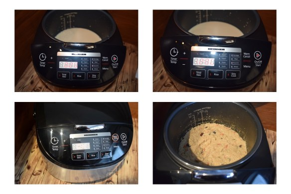 budincă de quinoa la multicooker