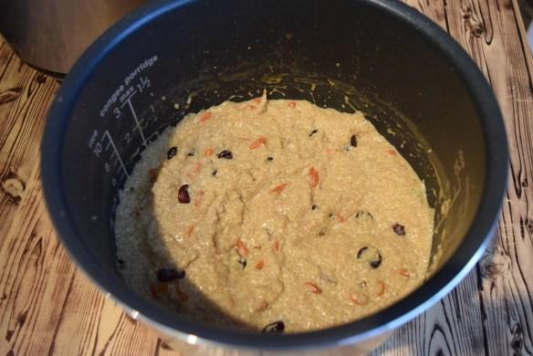 budincă de quinoa