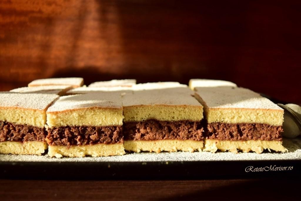 Prăjitura cu cremă de nuci