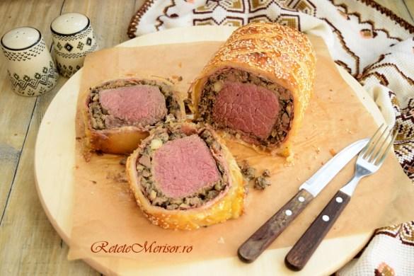 Beef Wellington din carne de vită Angus