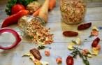 Amestec de legume uscate pentru vegeta de casă