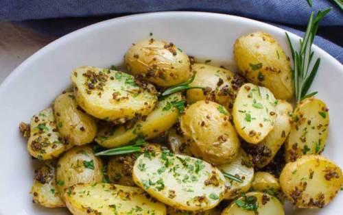 Cartofi natur de post