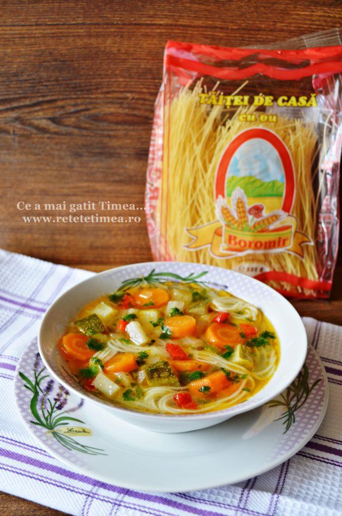 supa de legume cu taitei 5