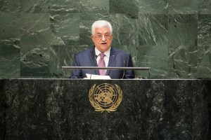 Mahmoud Abbas addresses the UN general Assembly, 9/26/14