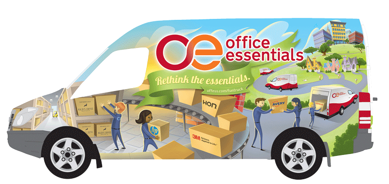 Office Essentials Fun Truck