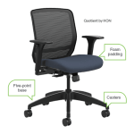 Forty hours a week. Fifty-two weeks a year. However you do the math, that adds up to a ridiculous amount of time spent in your office chair. And if it's past its prime, that old chair could lead to back pain and unproductivity. Here are some common signs that it's time to upgrade your seat.