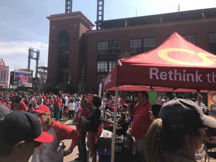Office Essentials at Cardinals Opening Day
