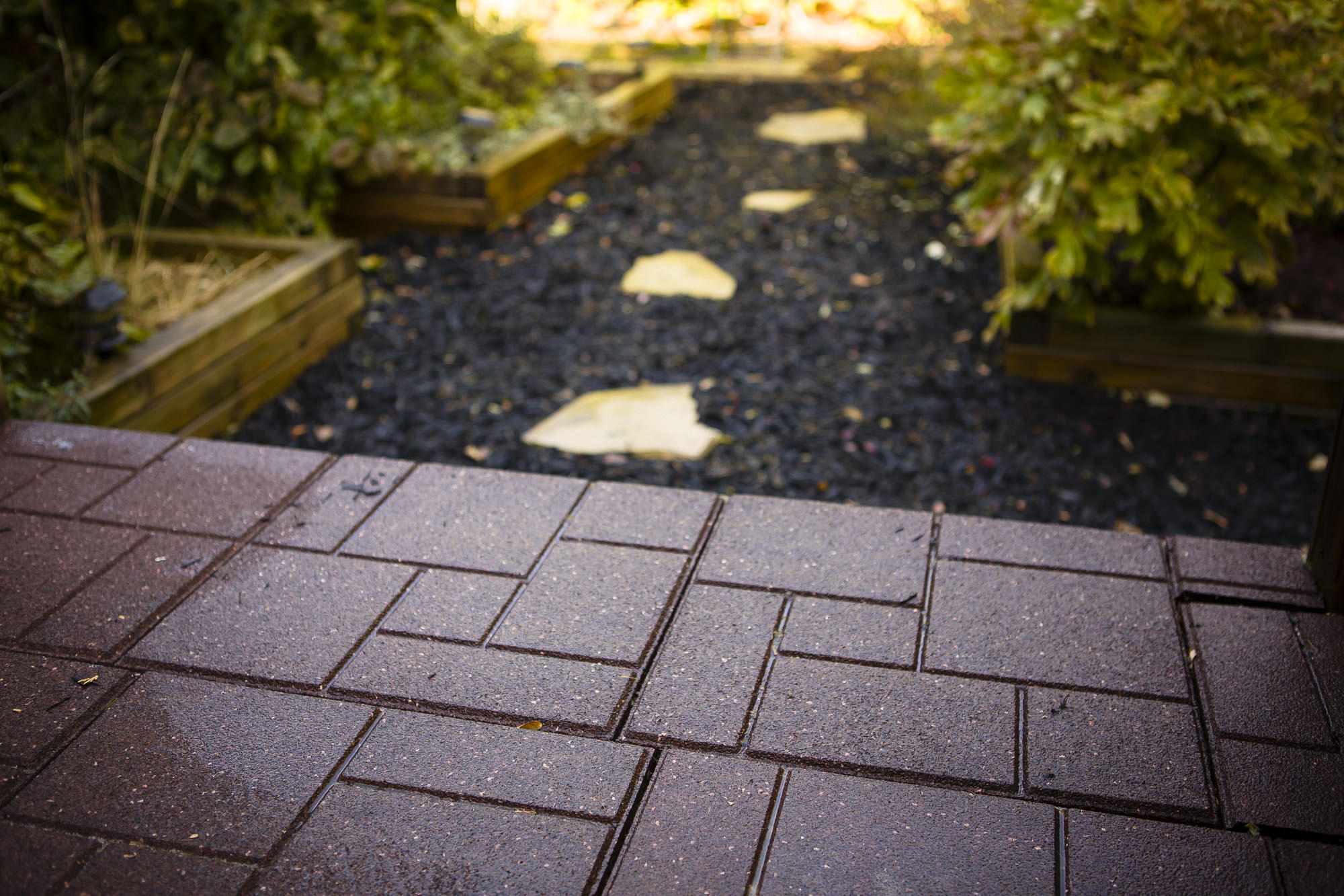 Recycled Tires Driveways