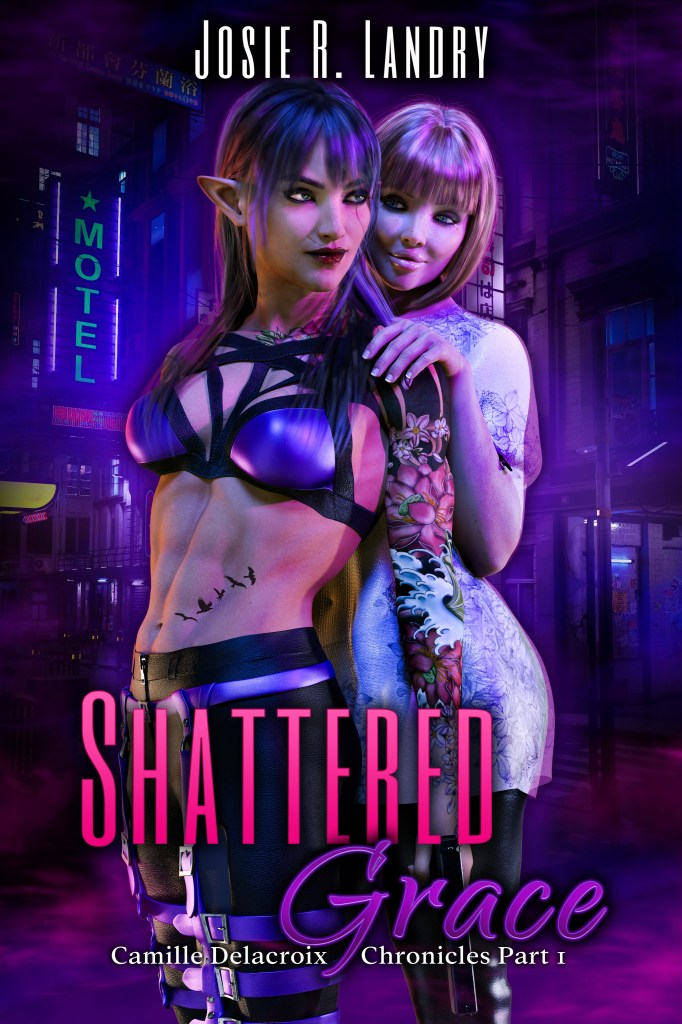 Book Cover: Shattered Grace