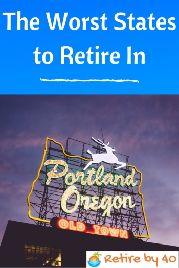The Worst States to Retire In 350