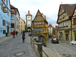 Rothenburg 1 - low road, high road