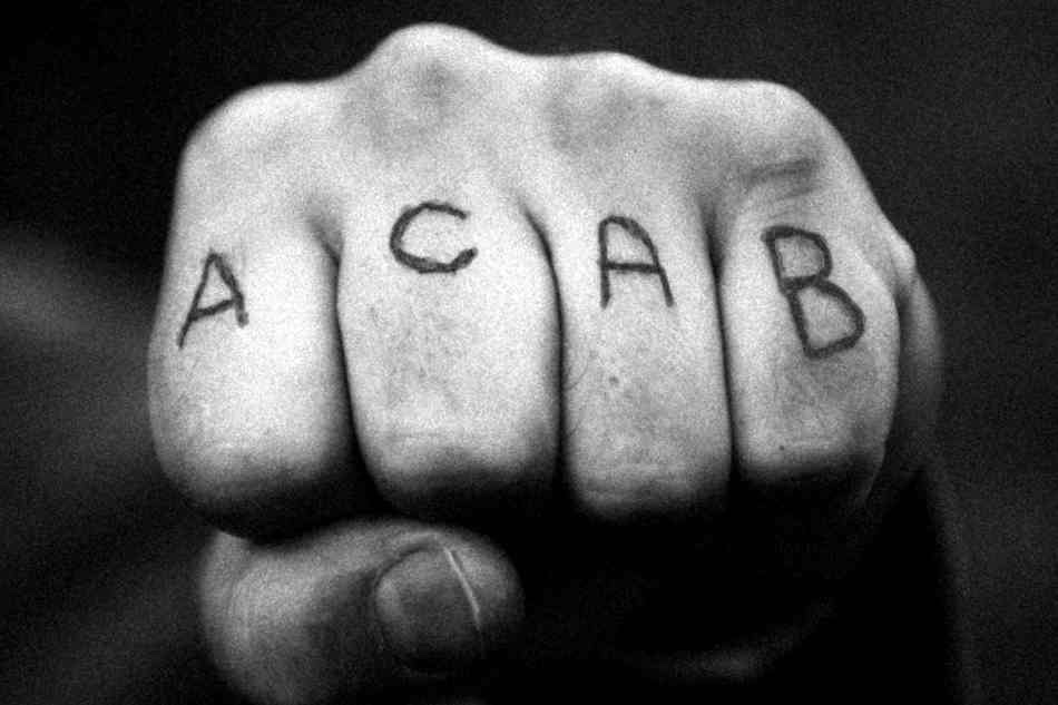 ACAB – All Coppers Are Bastards