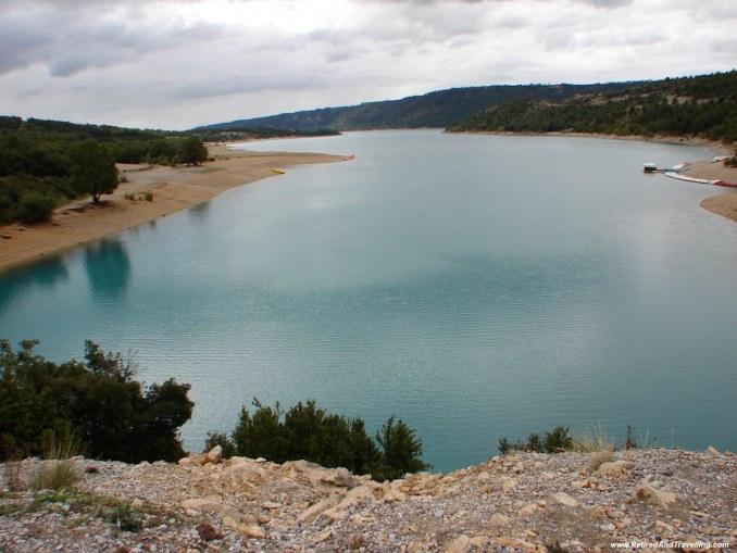 Lac du St Croix - Verdun Gorge Route.jpg