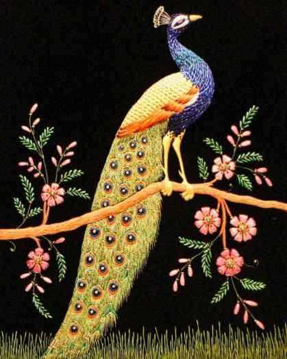 Peacock Tapestry - Artistry at the Kohinoor Museum.jpg