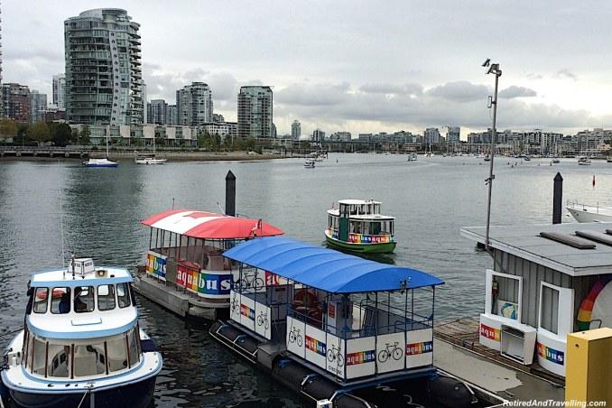 Granville Island Ferries - Vancouver Stop On An Alaska Cruise.jpg