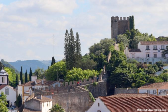 Views From The Wall - Walk On Castle Walls in Obidos.jpg