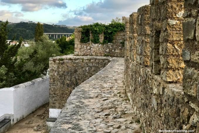 Path On The Wall - Walk On Castle Walls in Obidos.jpg