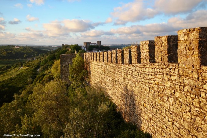 Sunset From The Wall - Walk On Castle Walls in Obidos.jpg