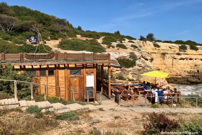 Pirata Cafe Praia da Albandeira - View Of The Algarve Cliffs.jpg
