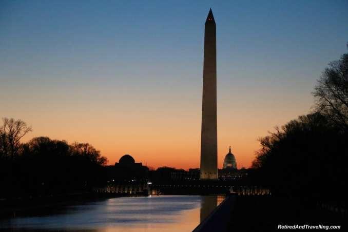 Washington Monument Sunrise - Experience Cherry Blossoms In Washington DC.jpg