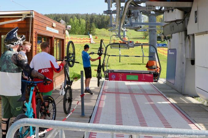 Lipno Chair Lift Mountain Bikes - Czech Countryside From The Lipno Treetop Walk.jpg