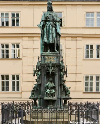 King Charles Statue - Walk The Charles Bridge In Prague.jpg