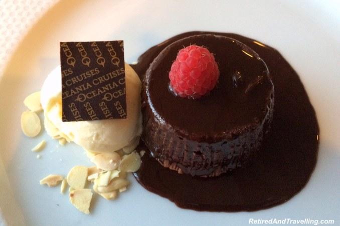 Oceania Cruises Chocolate Dessert - Travel For Food.jpg