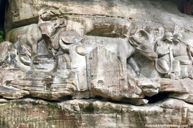 Dazu Ritual Site of Buffalo - We Visited The Dazu Stone Carvings.jpg