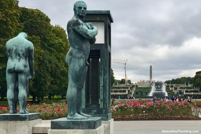 Vigelandsparken Vigeland Outdoor Sculpture Garden In Oslo.jpg