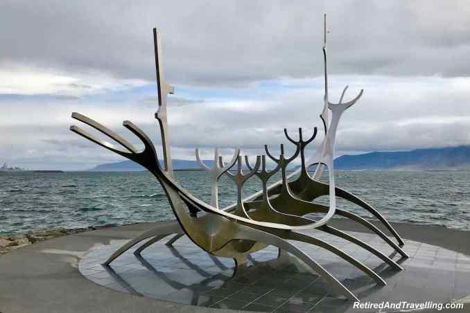 Statue Sun Voyager - Outdoor Art In Reykjavik Iceland.jpg