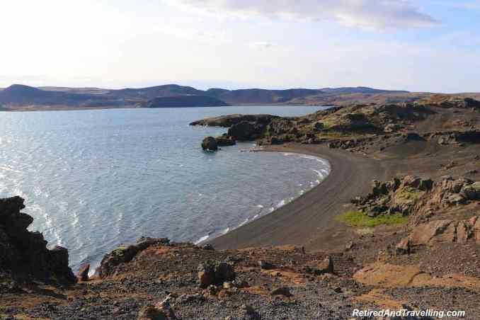 Iceland Kleifarvatn Lake - Picturesque Reykjanes Peninsula From Reykjavik.jpg