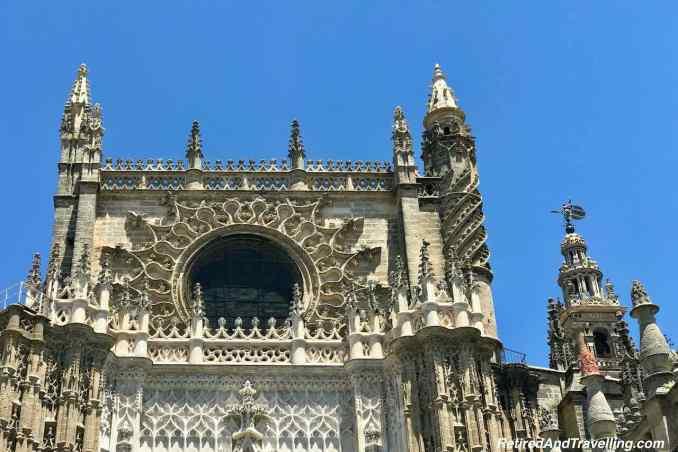 Cathedral Outside - Santa Cruz Neighborhood in Seville Spain.jpg