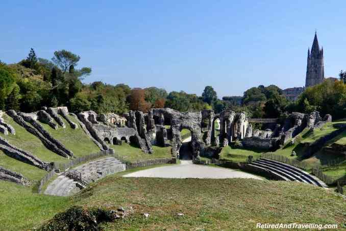 Saintes Town Amphitheatre - Day Trip From La Rochelle - Cognac Tasting In Cognac France.jpg