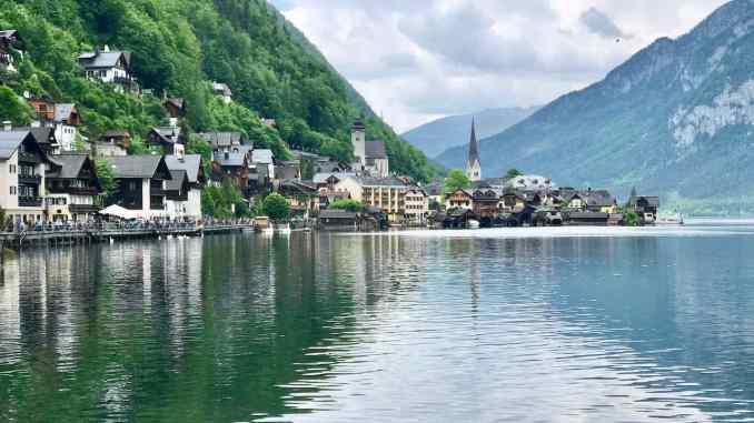 Austrian Alps To Hallstatt From Salzburg Austria.jpg