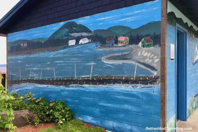 Campbellton Old Wharf Mural - Road Trip Stops In New Brunswick Canada.jpg