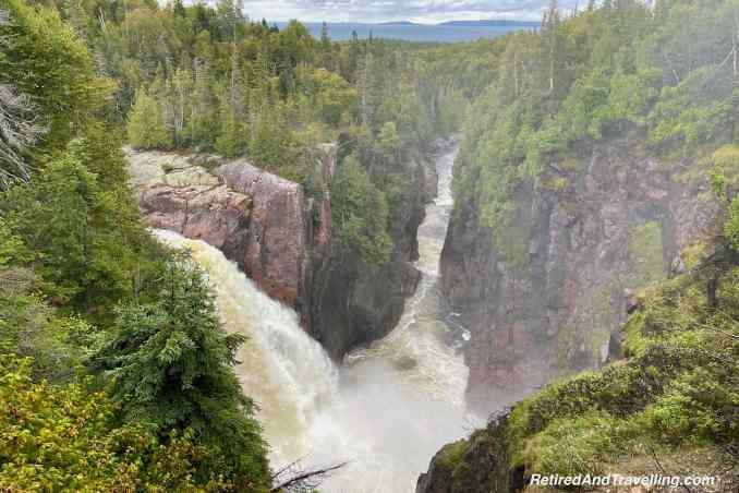 Aguasabon Canyon Falls - Waterfall Route From Toronto To Thunder Bay Canada.jpg