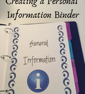 information binder
