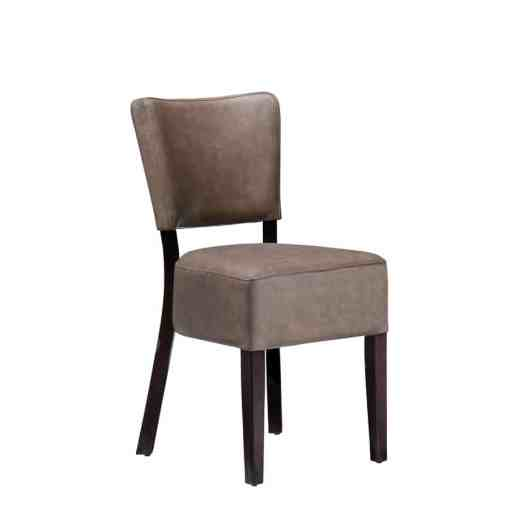 Club side chair Dining chairs Faux leather