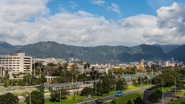 Bogota street view