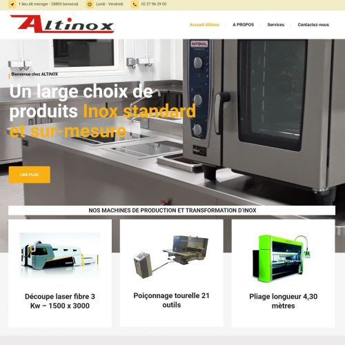 altinox site capture retouche informatique