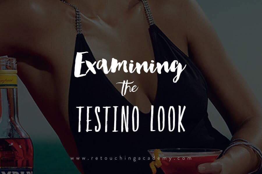 examing the look of testino photographs