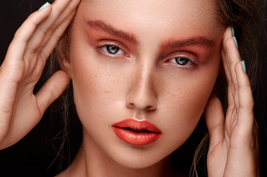 retouching beauty portraits in lightroom